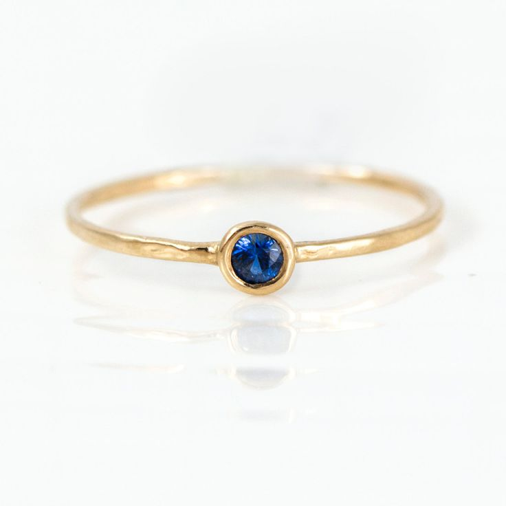 Melanie Casey - Sapphire Stacking Ring, $198.00 (http://www.melaniecasey.com/sapphire-stacking-ring/)