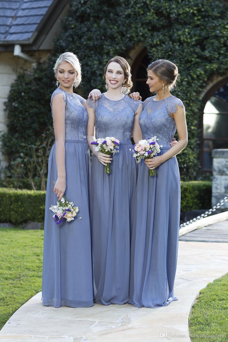 Wedding Wedding Bridesmaid Dresses 17 best images about new bridesmaid dresses on pinterest formal jewel lace chiffon long bridesmaids party gowns