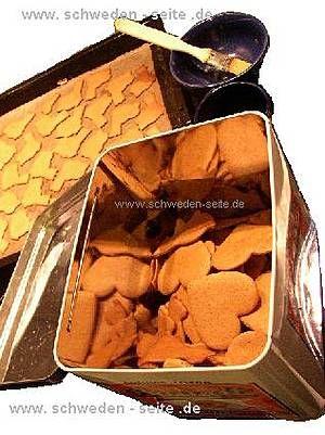 Schweden-Seite: Rezept für schwedische Pfefferkuchen