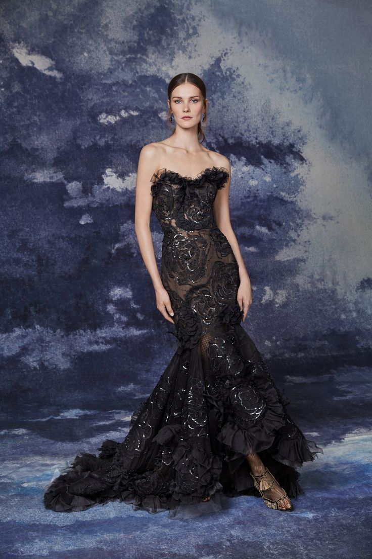 Marchesa readytowear FALLWINTER 20202021,FASHION in