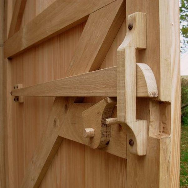 Outdoor Door and Latch System