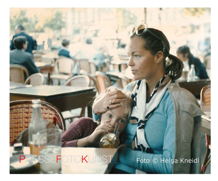 Romy & David, Paris, 1973 - Helga Kneidl