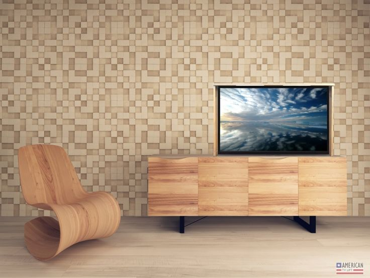 modern vail tv lift cabinet is the perfect center for your modern home this custom pop up media console is motorized to conceal