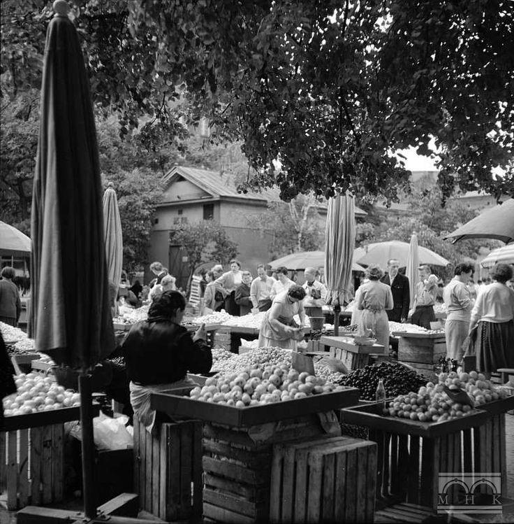 Stary Kleparz - plac targowy, Lata 60. XX w.