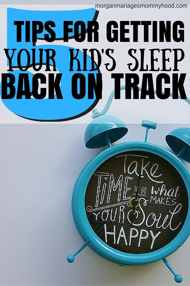 A good night's sleep is the Holy Grail for parents. Learn how to get your kid's sleep back on track after a few rough nights!