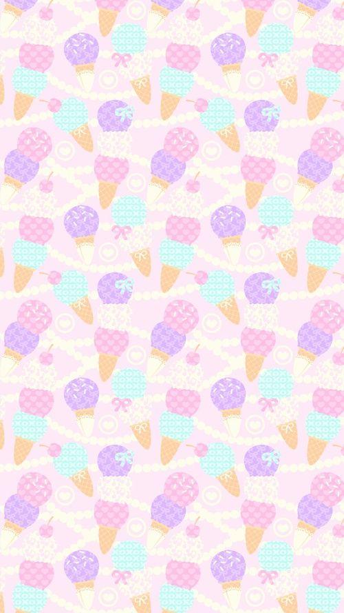 art, background, beautiful, beauty, cartoon, cute art, cute illustration, drawing, ice cream, illustration, kawaii, pastel, pattern, pink, sweets, texture, wallpapers, we heart it, kawaii food, pink background, pastel pink, beautiful art, pastel color, pa