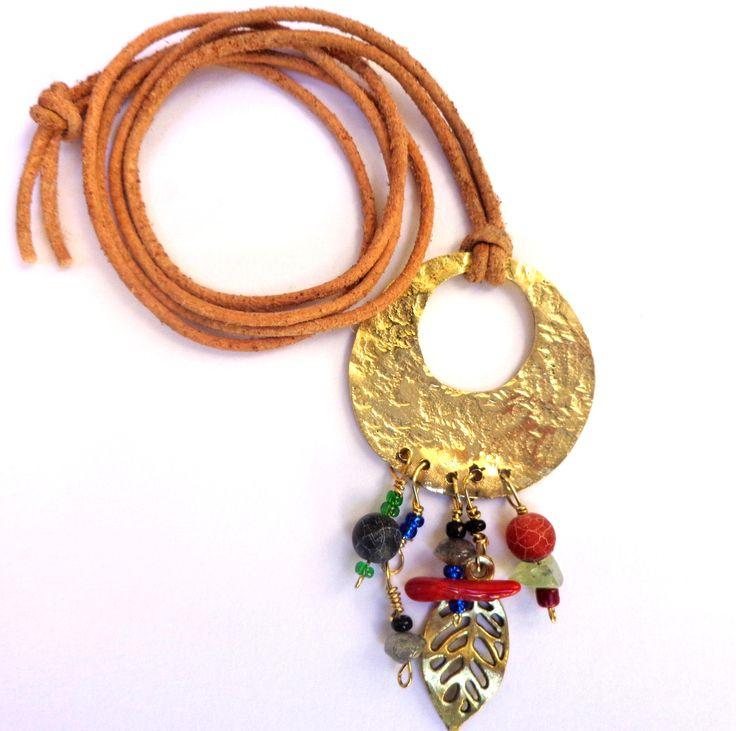 Bronze Oriental handmade Necklace