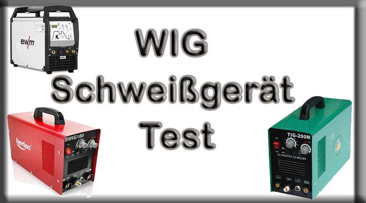 WIG Schweißgerät Test