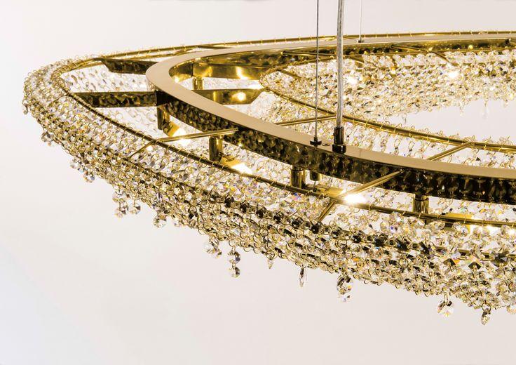 Artica Crystal Chandelier Manooi www.manooi.com #Manooi #Chandelier #CrystalChandelier #Design #Lighting #Artica