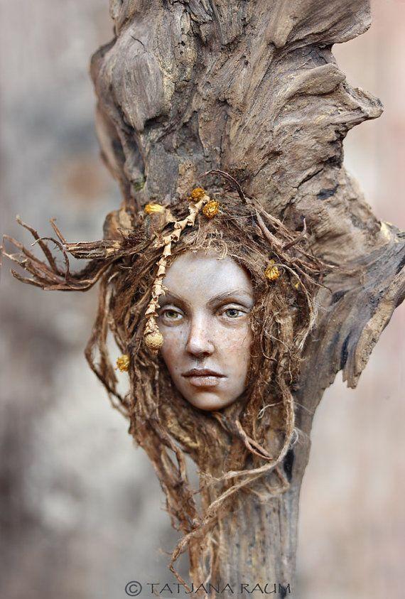Wooden spirit Hela by Chopoli #faerie