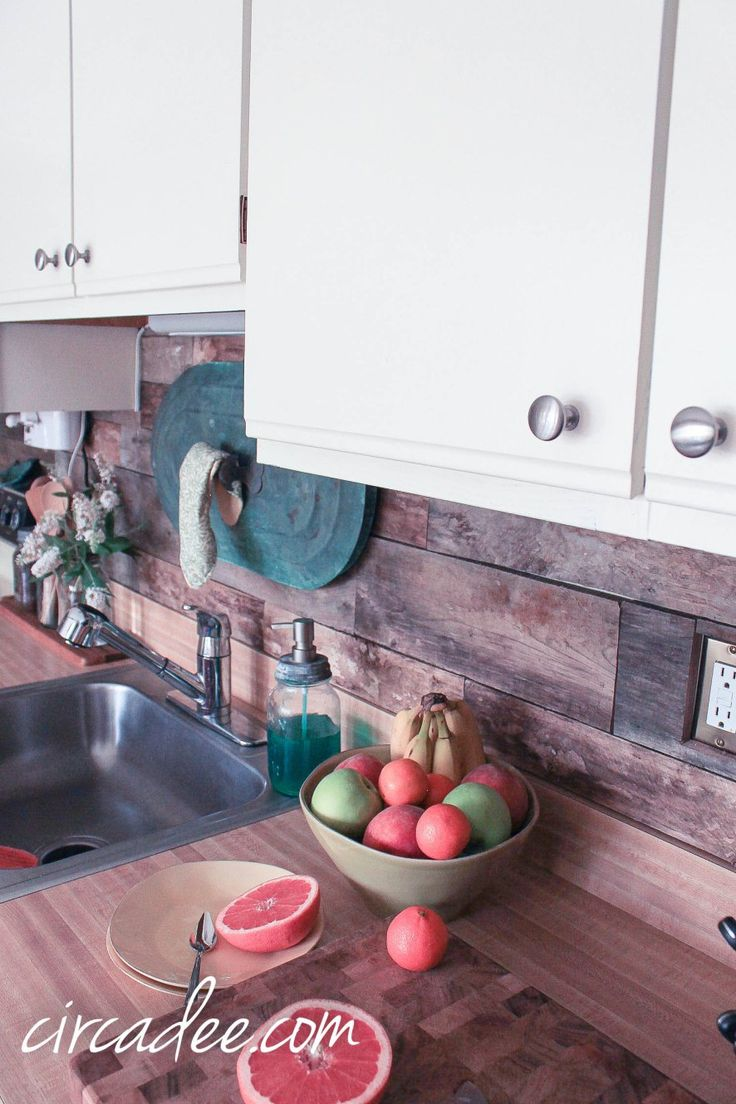 Pallet Wood Backsplash 45 Best 80s Kitchen Makeover Images On Pinterest Kitchen Ideas