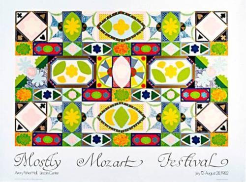 Mostly Mozart Festival Poster - Joyce Kozloff