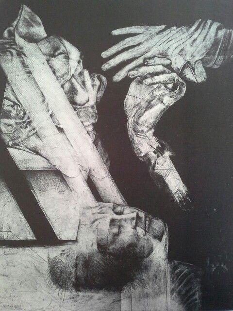 Roda serie retratos de las monjas muertas no 2