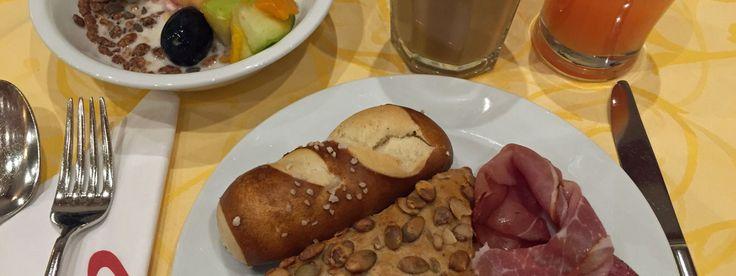 Frühstück im Hotel Esperanto in #Fulda