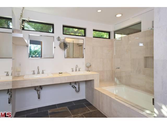 midcentury bath   bath