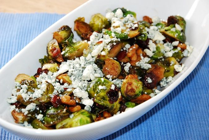 ... Points | Brussels sprouts, Blue cheese and Dried cranberries