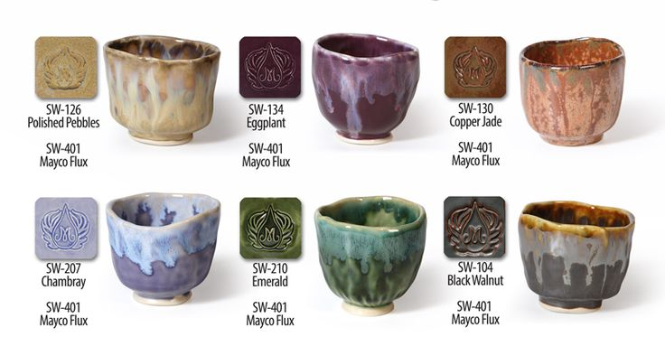 Mayco Flux With Stoneware
