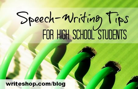Teach rhetoric and composition with these speech-writing tips for prewriting, writing, and editing.