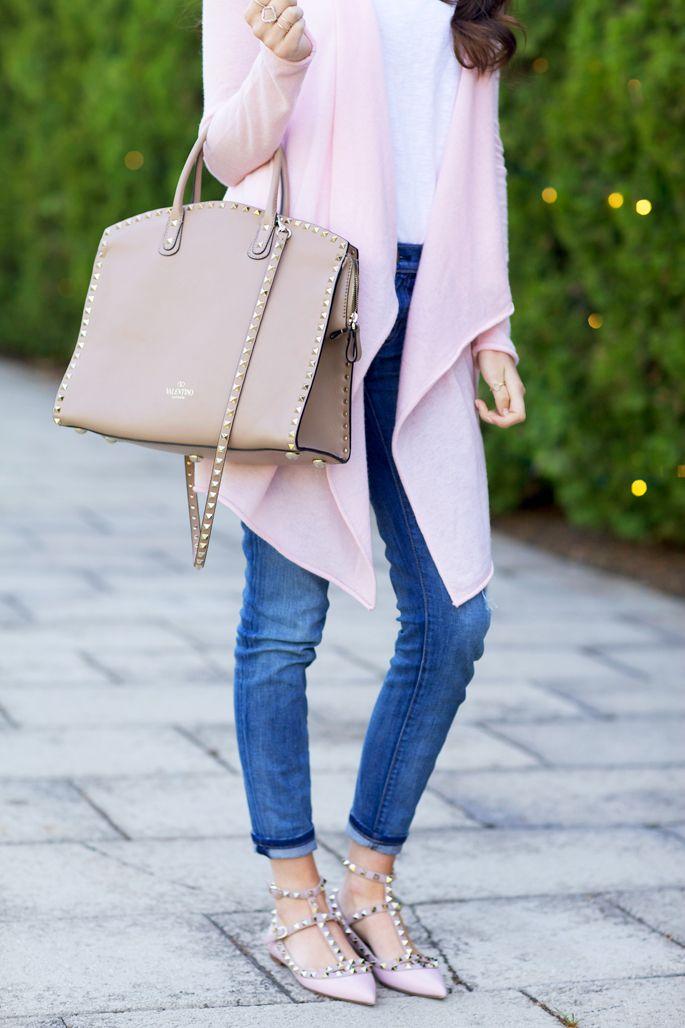 Soft and Feminine… Valentino FlatsAnkle ...