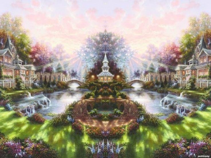 Fond Ecran Gratuit Paysage Feerique images   Fond ecran gratuit paysage, Paysage fantastique ...