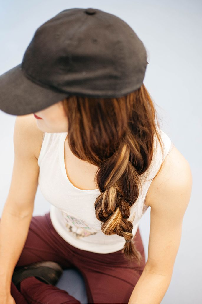 Cute Gym Hairstyles For Long Hair : Ideas about gym hairstyles on hair
