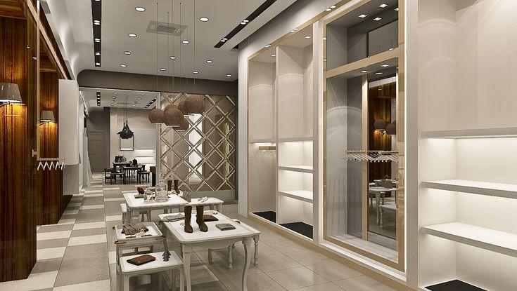 Azerbaijan Store design, store design, shelving systems, decorative systems