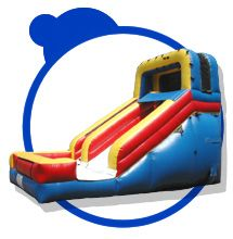 Wet or dry slide. Have fun on the slide at your indoor event. Or take it outside for a super fun wet and wild time!
