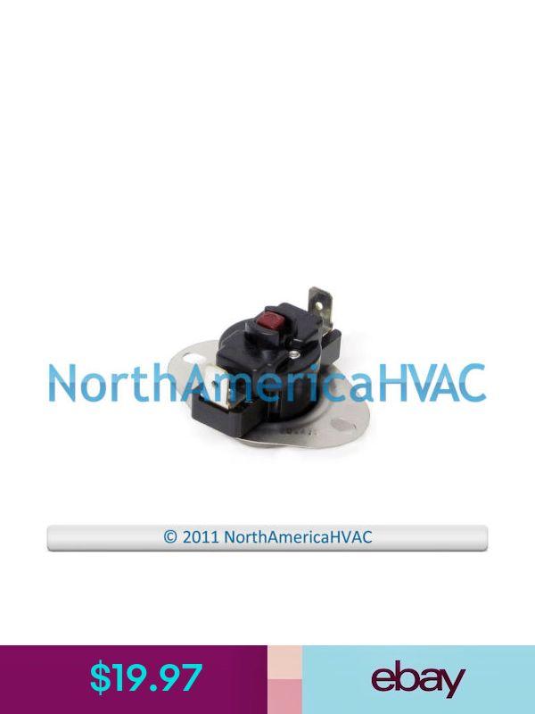 Carrier Bryant Payne Furnace 180 Limit Disc Switch L180F HH18HA194 HH18HA194A
