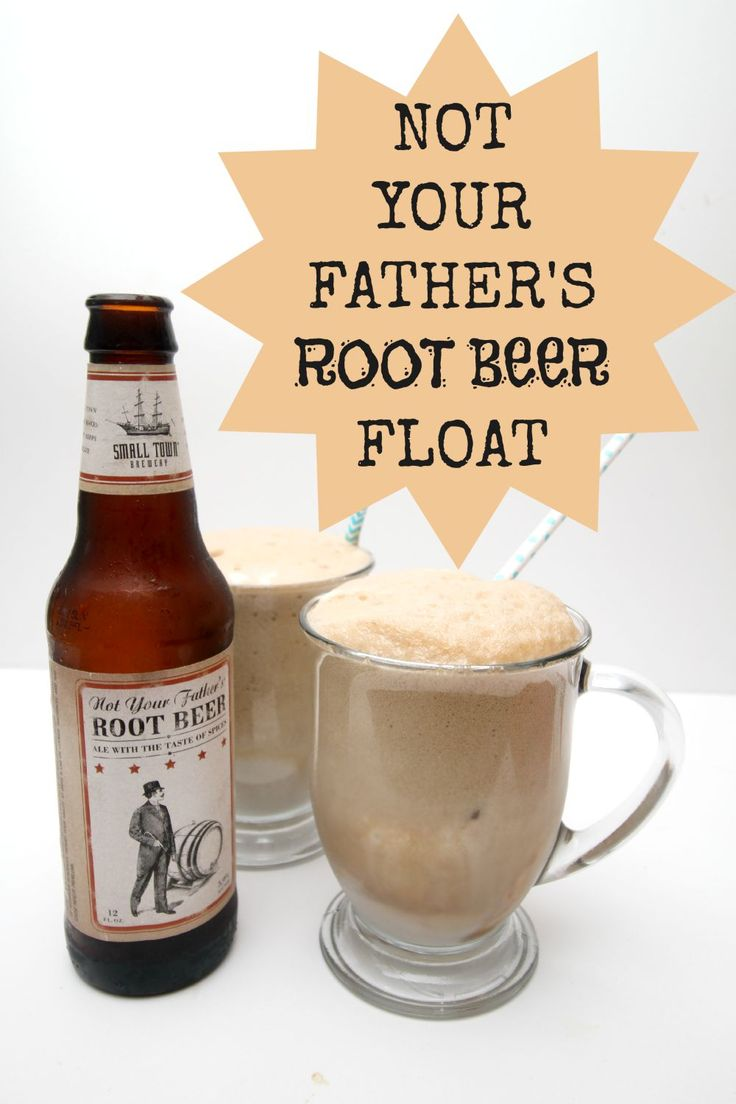 Not Your Father's Root Beer is the perfect choice for our yummy adult root beer float recipe!  Make with your choice of ice cream, or classic vanilla!