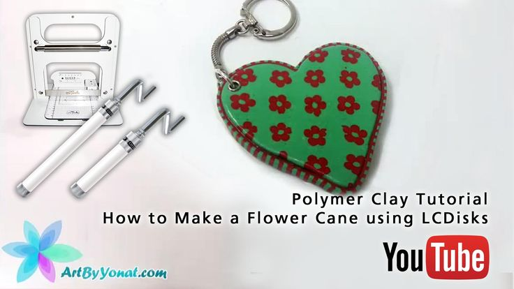 Czextruder and LC Slicer in Action: Polymer Clay Tutorial - How to Make a Flower Cane using LCDisks - video tutorial by Yonat Dascalu https://youtu.be/dKOXDNfmAr0
