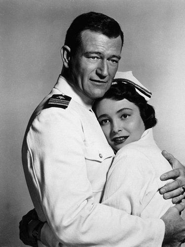 """Operation Pacific""  movie #106 Jan. 1951.  Directed by George Waggner.  With Patricia Neal, Ward Bon, Scott Forbes."