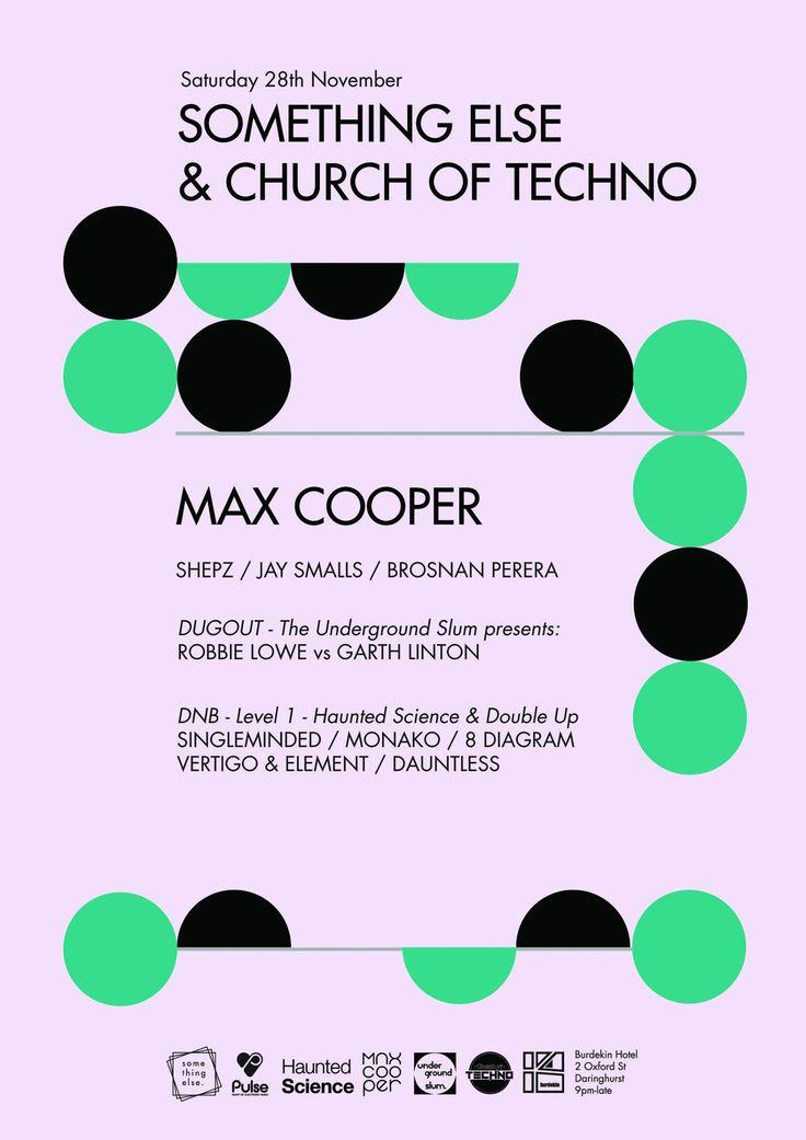 Haunted Science Sydney @ Something Else w/Max Cooper Sat 28th November 2015