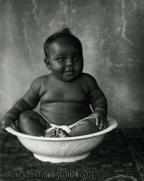 """BABY BOY 1920s From the book """"A True Likeness: The Black South of Richard Samuel Roberts 1920-1936."""" Credit: South Carolina ETV."""