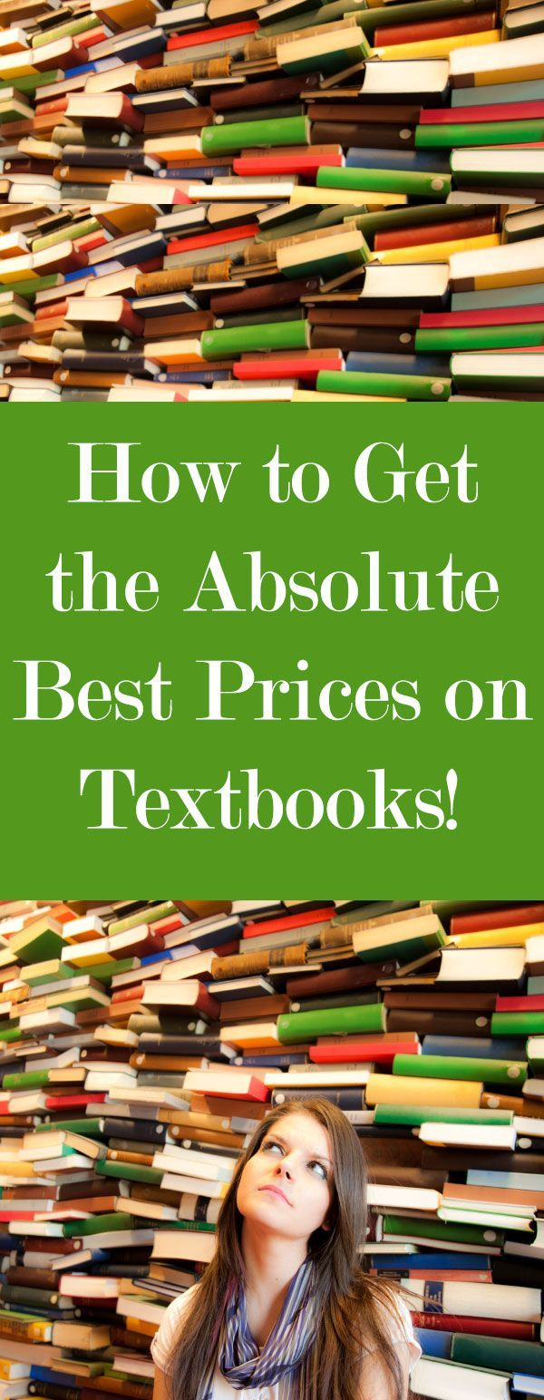 How to get the absolute best prices on textbooks