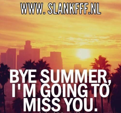 Bye Summer, Iu0027m Going To Miss You. Goodbye Summer Quote Sunset Quotes End  Of Summer