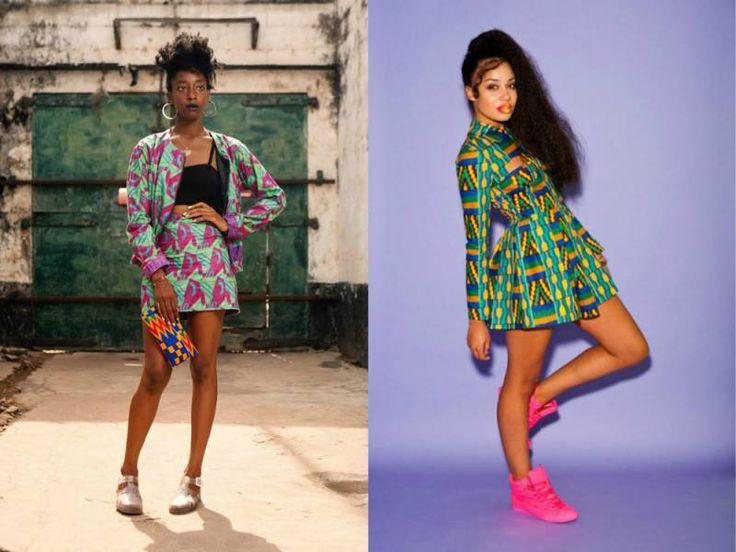 Африканский стиль в одежде - яркая энергия цвета