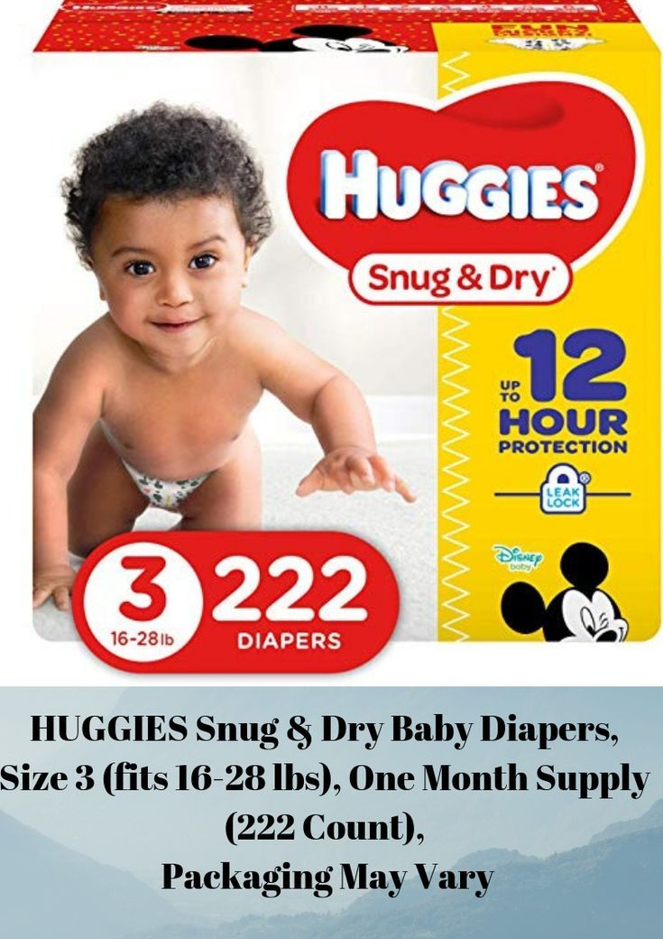 About the product huggies snug dry diapers size 3 fit