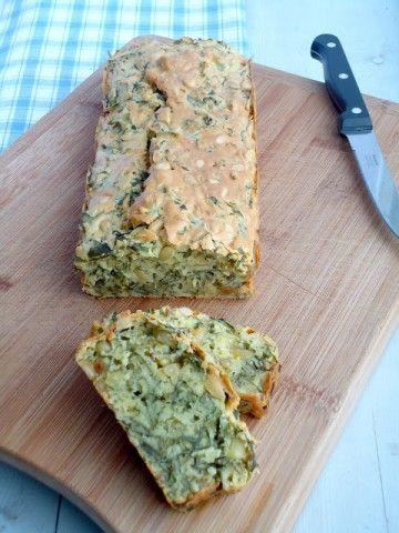 Lekker recept voor hartige cake met rucola uit Home Made Zomer van Yvette van Boven.