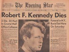 robert kennedy assassination in Los Angeles