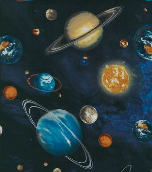 Novelty Cotton Fabric- Atmosphere
