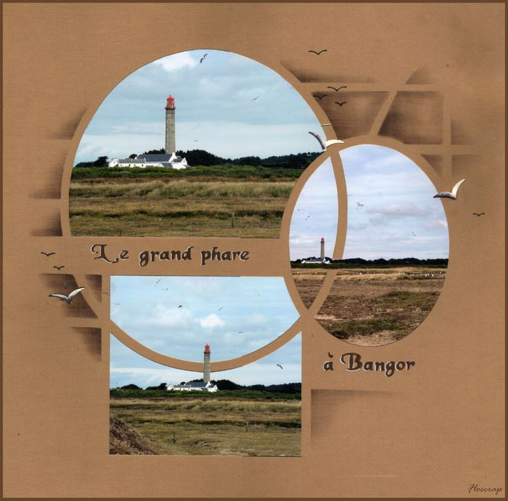 Le grand phare à Bangor.. - Flopassionscrap
