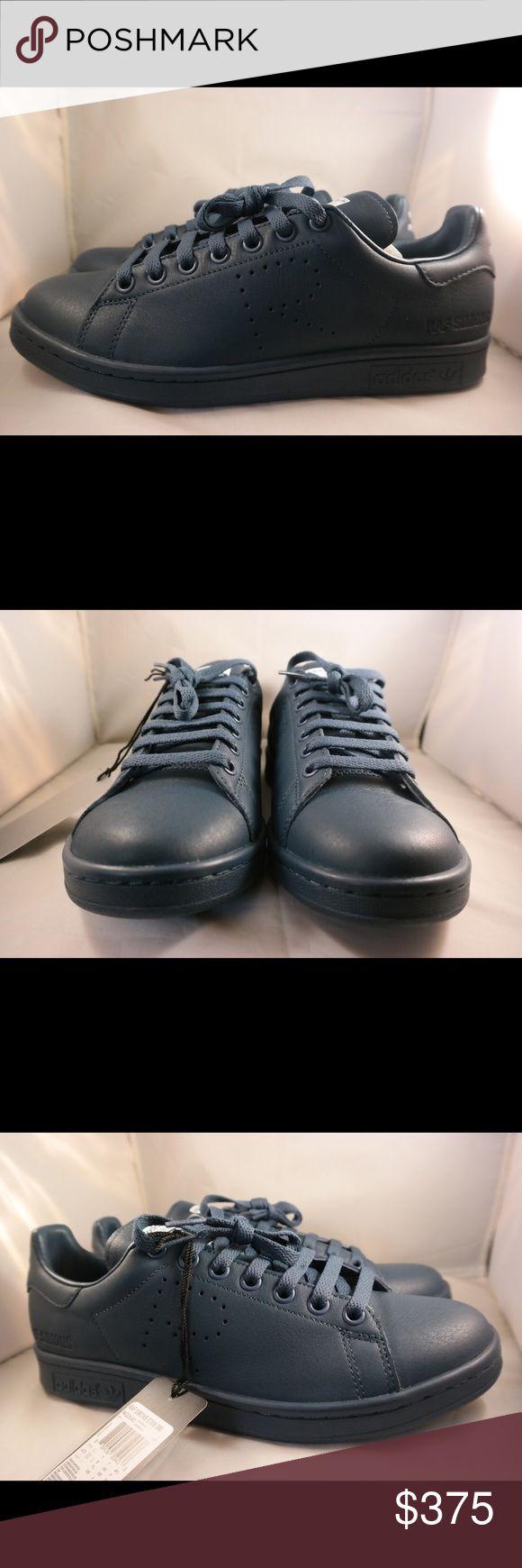 Raf simmon adidas Nice midnight blue leather raf adidas Raf simmons Shoes Sneakers