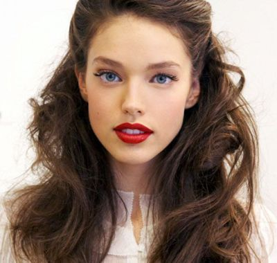 Wavy Hairstyles Pinned Back Hairstyles Ideas For Me Hair Styles