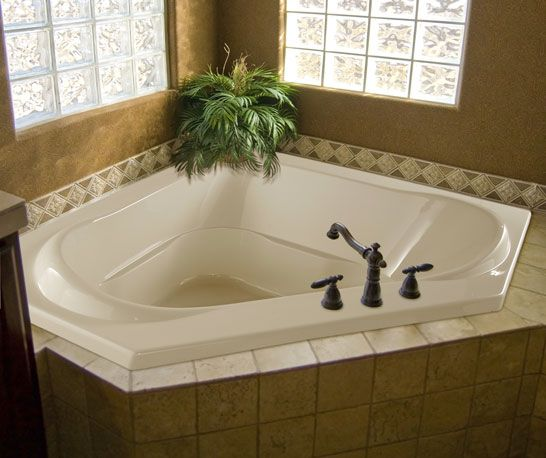 38 best images about tub shower combos on pinterest for Jet tub bathroom designs