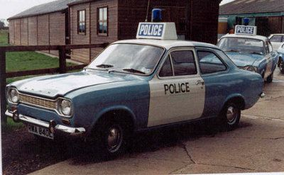 Ford Escort Mk1 Police Car