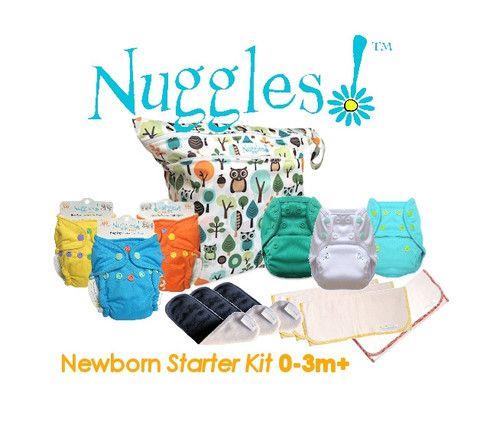 Nuggles!™ Newborn Starter Package (7 diaper changes)