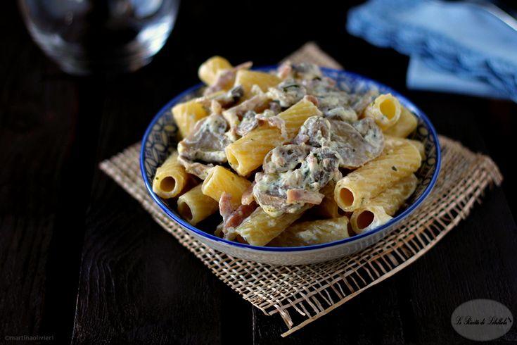 Pasta+cremosa+ai+funghi+e+speck
