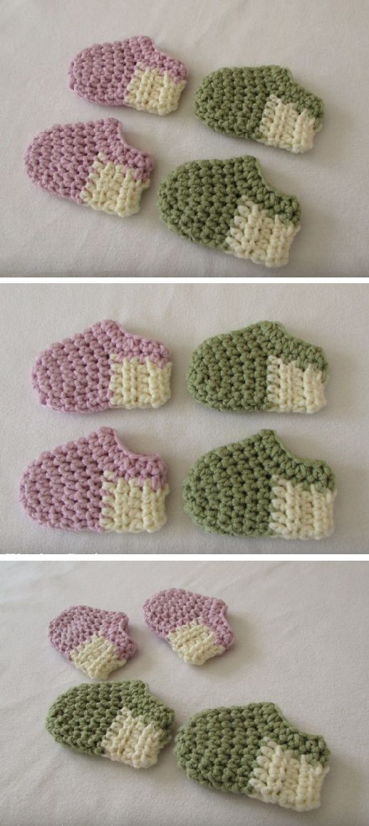 Crochet Basic Baby Shoes, very fast and very easy. Spend your day with joy