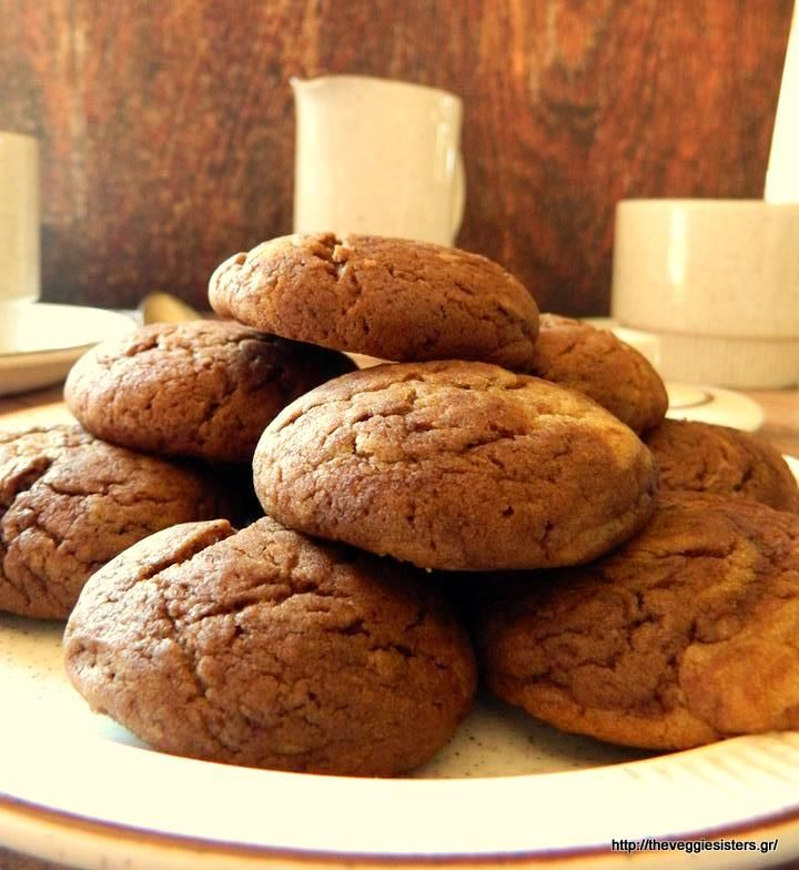 Vegan cocoa peanut butter cookies: an irresistible temptation!
