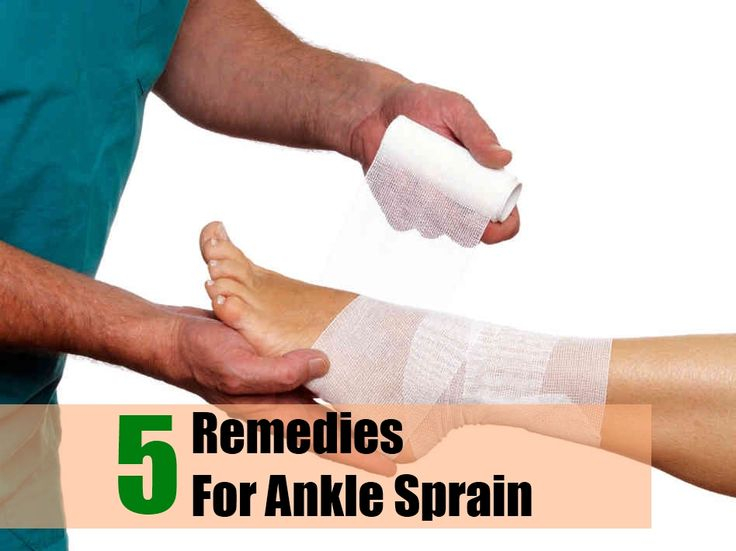 5 Remedies For Ankle Sprain